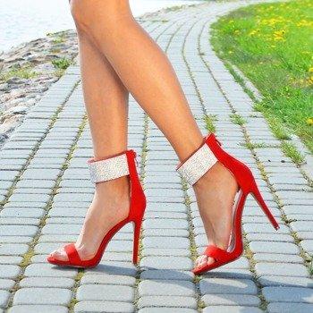 712d5614fbd97 Sandaly z zakrytą piętą - peep toe, na słupku, szpilce, gumowe i ...