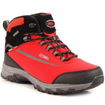 0931fbe6 Trapery trekkingowe wodoodporne zima czerwone American Club